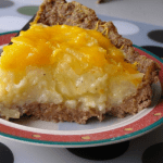 slice of meatloaf pie on a plate